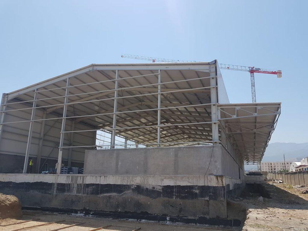Hangar métallique diam grain