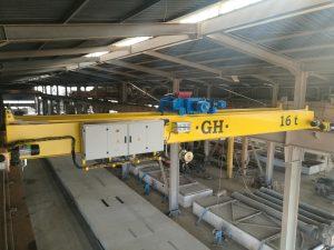 Pont roulant 16 tonne cosider