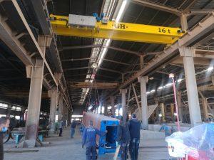 Pont roulant 16 tonne cosider chelef